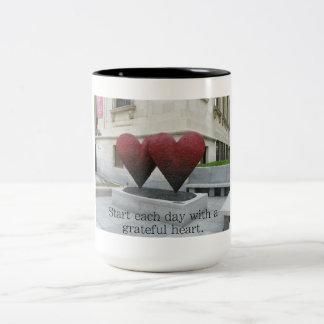 Grateful Heart - coffee mug 15oz