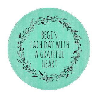 Grateful Heart Cutting board