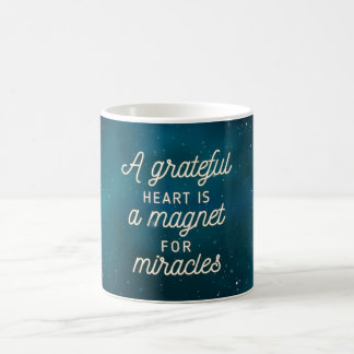 Grateful Heart Magnet for Miracles | Classic Mug