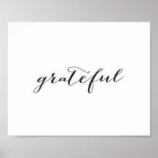 Grateful - Poster
