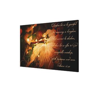 Gratefulness Stretched Canvas Prints
