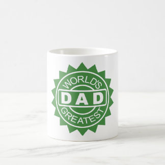 Gratest Dad In the World by Mini Brothers Coffee Mug