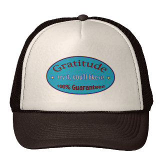 Gratitude 100% Guaranteed Cap