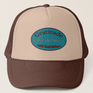 Gratitude 100% Guaranteed Trucker Hat