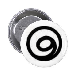 gratitude 6 cm round badge