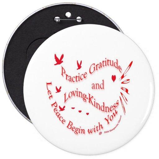 Gratitude and loving-kindness button