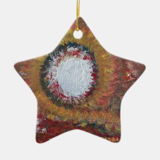 Gratitude Energy Ceramic Star Decoration