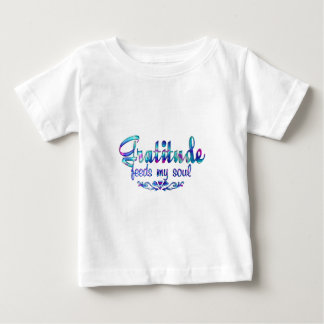 Gratitude Feeds My Soul Baby T-Shirt