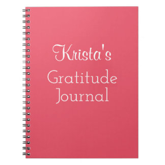 Gratitude Journal 4Krista (Name Here)