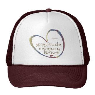 """Gratitude - Memory of the heart"" Cap"