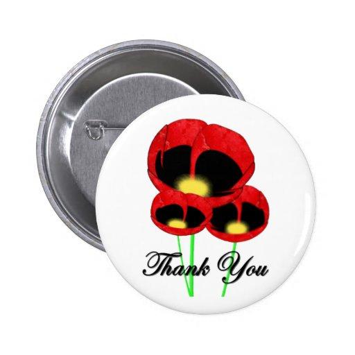 Gratitude Remembrance Day Button