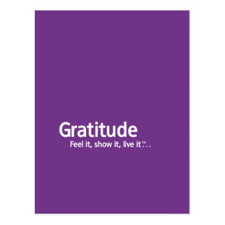 Gratitude - Thought Shapers™ Postcard