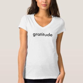 gratitude - V-neck Women's Tee