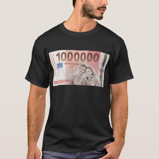 Gratuity to the wedding - 1-Mio-Euro T-Shirt