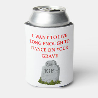 GRAVE CAN COOLER