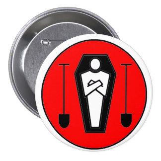 Grave Digger 7.5 Cm Round Badge