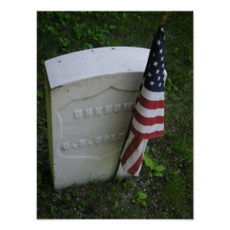 Grave of Unknown US Soldier Poster