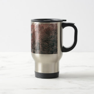 Gravel Empty Road - Parque Nacional Los Glaciares Travel Mug