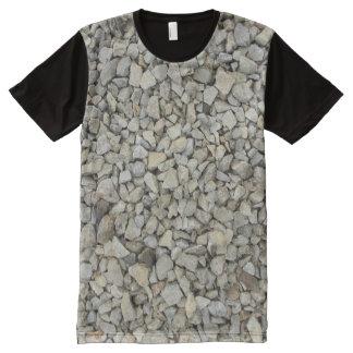 Gravel texture All-Over print T-Shirt