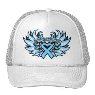 Graves Disease Awareness Heart Wings.png Cap