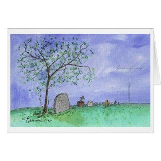 Graveyard & Antenna Card
