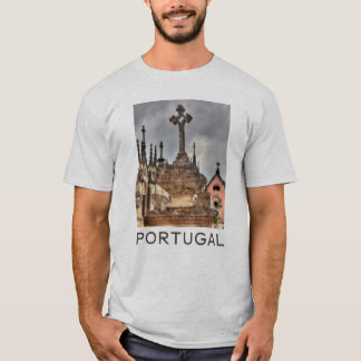 Graveyard cross close-up, Portugal T-Shirt