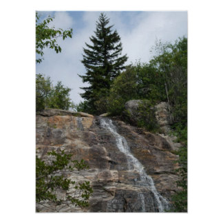 Graveyard Fields Waterfall Poster ... Bordered
