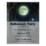 Graveyard Halloween party 21.5 Cm X 28 Cm Flyer