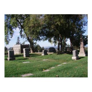 Graveyard Postcard