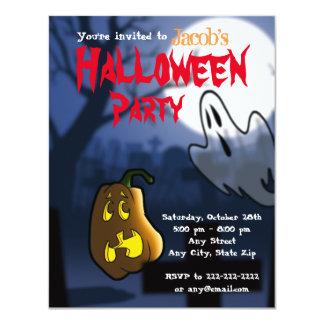 Graveyard Scare Halloween/Birthday Invite