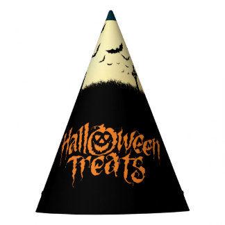 Graveyard scary Halloween treats Party Hat