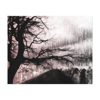 Graveyard Shift Canvas Print