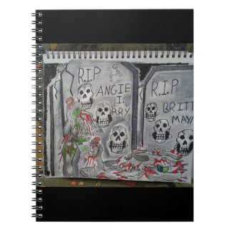 Graveyard Zombie Notebooks