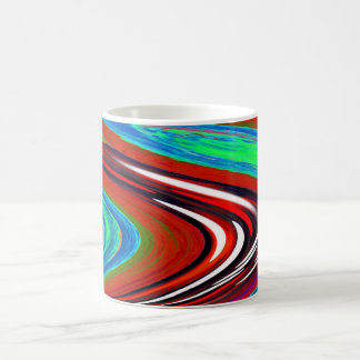 Gravitational pull coffee mug