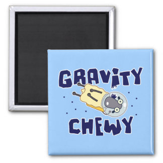 Gravity Chewy Sheep Square Magnet