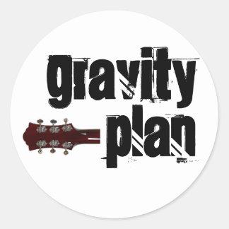 Gravity Plan Sticker