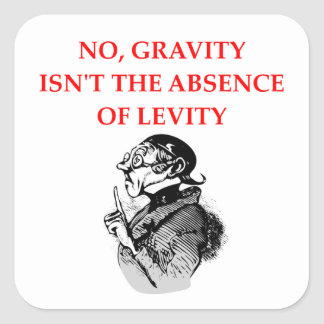 GRAVITY SQUARE STICKER