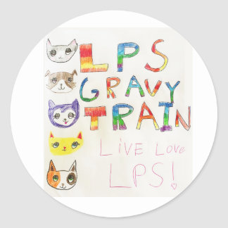Gravy Train stickers