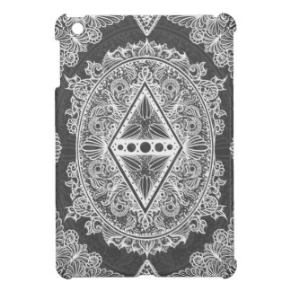 Gray, Age of awakening, bohemian, newage iPad Mini Cover