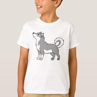 Gray Alaskan Malamute T-Shirt