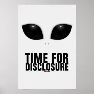 Gray-Alien Eyes Disclosure poster