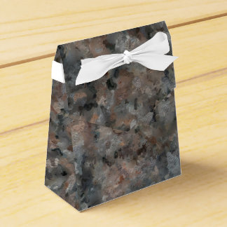 Gray and Pink Granite 4629 Favour Box
