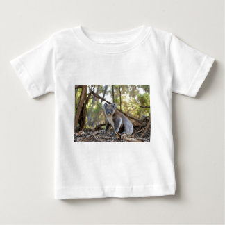 Gray and White Koala Bear Baby T-Shirt
