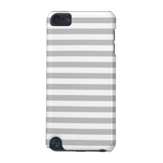Gray and White Stripe Pattern iPod Touch (5th Generation) Case
