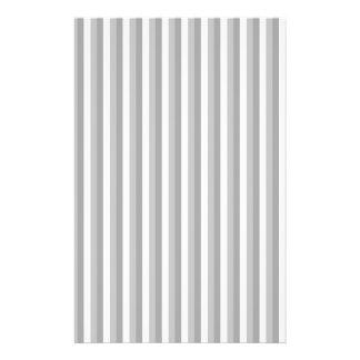 Gray and white stripes. Pattern. Custom Flyer