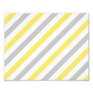 Gray and Yellow Diagonal Stripes Pattern Photo