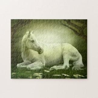 Gray Arabian Horse Jigsaw Puzzle