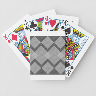 gray argyle bicycle playing cards