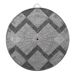 gray argyle dartboard