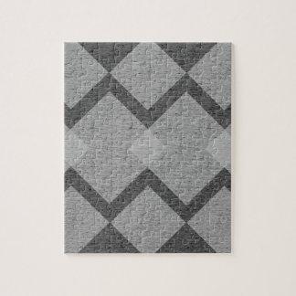 gray argyle jigsaw puzzle
